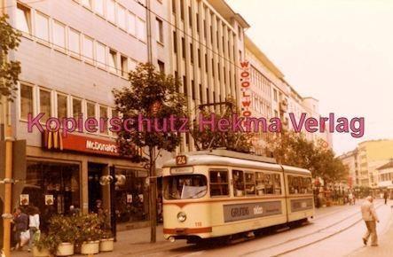 Ludwigshafen Straßenbahn - Ludwigstr. - Linie 24 Wagen Nr. 110