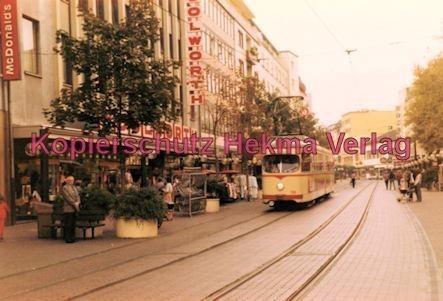 Ludwigshafen Straßenbahn - Ludwigstr. - Linie 9 Wagen Nr. 136