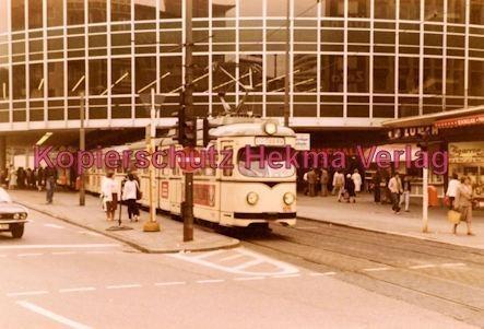 """Ludwigshafen Straßenbahn - Berliner Platz """"Tortenschachtel"""" - Wagen Nr. 1015"""