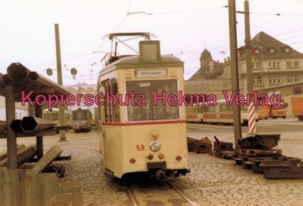 Ludwigshafen Straßenbahn - Depot Luitpoldhafen - Arbeitswagen Nr. 59