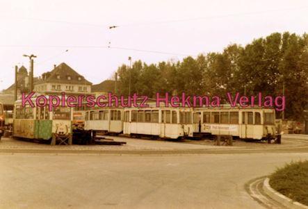 Ludwigshafen Straßenbahn - Depot Luitpoldhafen - Verschiedene Wagen