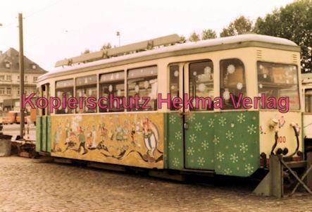 Ludwigshafen Straßenbahn - Depot Luitpoldhafen - Wagen Nr. 100