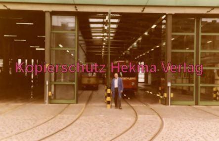 Ludwigshafen Straßenbahn - Depot Luitpoldhafen - Blick ins Depot