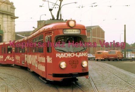 Ludwigshafen Straßenbahn - Depot Luitpoldhafen - Wagen Nr. 1019 - Bild 1