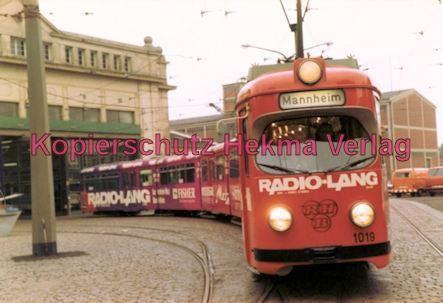 Ludwigshafen Straßenbahn - Depot Luitpoldhafen - Wagen Nr. 1019 - Bild 2