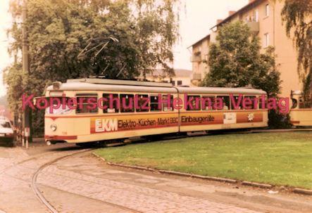 Ludwigshafen Straßenbahn - Linie 18 Wagen Nr. 136 - Bild 1