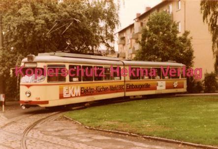 Ludwigshafen Straßenbahn - Linie 18 Wagen Nr. 136 - Bild 2