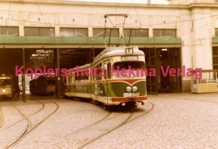 Ludwigshafen Straßenbahn - Depot Luitpoldhafen - Linie E Wagen Nr. 155 - Bild 1