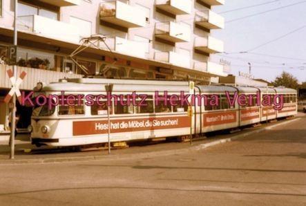 Ludwigshafen Rhein-Haardtbahn - Depot Bad Dürkheim - Innenstadt - Wagen Nr. 1021 - Bild 1