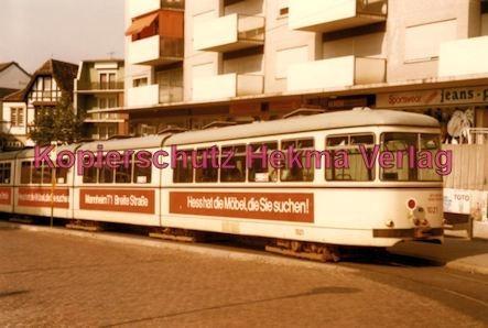 Ludwigshafen Rhein-Haardtbahn - Depot Bad Dürkheim - Innenstadt - Wagen Nr. 1021 - Bild 2
