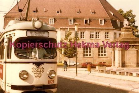 Ludwigshafen Rhein-Haardtbahn - Depot Bad Dürkheim - Innenstadt - Wagen Nr. 1021 - Bild 3