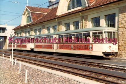 Ludwigshafen Rhein-Haardtbahn - Depot Bad Dürkheim - Wagen Nr. 1052 - Bild 1