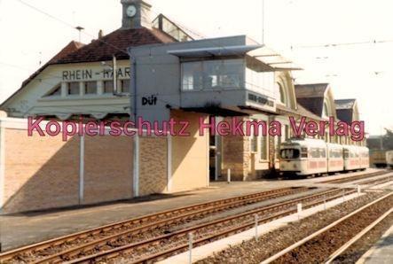 Ludwigshafen Rhein-Haardtbahn - Depot Bad Dürkheim - Wagen Nr. 1052 - Bild 2