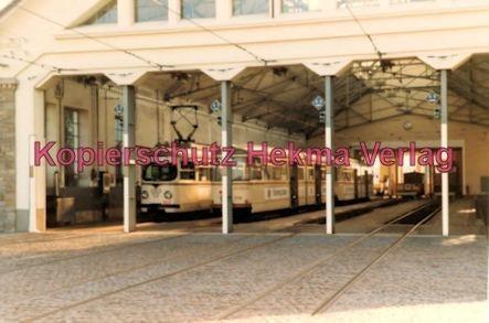 Ludwigshafen Rhein-Haardtbahn - Depot Bad Dürkheim - Blick ins Depot