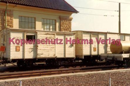 Ludwigshafen Rhein-Haardtbahn - Depot Bad Dürkheim - Güterwagen Nr. 28 und Nr. 29
