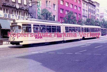 Mühlheim/Ruhr Straßenbahn - Linie 112 Wagen Nr. 257