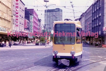 Mühlheim/Ruhr Straßenbahn - Linie 108 Wagen Nr. 272