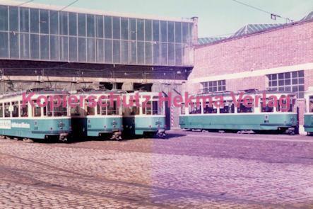 München Straßenbahn - Betriebshof 3 - Wagen - Bild 1