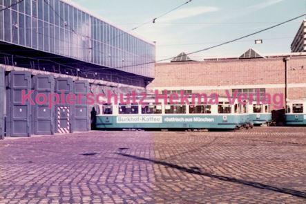 München Straßenbahn - Betriebshof 3 - Wagen - Bild 2