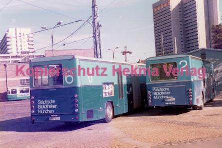 München Straßenbahn - Betriebshof 3 - Busse