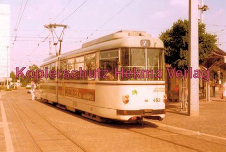 Mannheim Straßenbahn - Linie 7 Wagen Nr. 462
