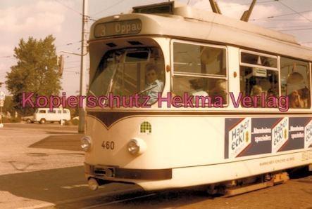 Mannheim Straßenbahn - Linie 3 Wagen Nr. 460 - Bild 2