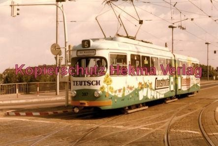 Mannheim Straßenbahn - Linie 5 Wagen Nr. 397 - Bild 1