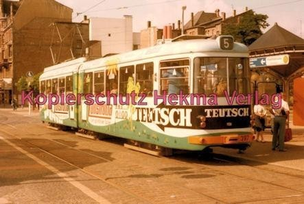 Mannheim Straßenbahn - Linie 5 Wagen Nr. 397 - Bild 2