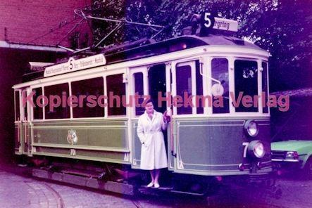 Nürnberg Straßenbahn - Linie 5 Wagen Nr. 7 - Bild 1