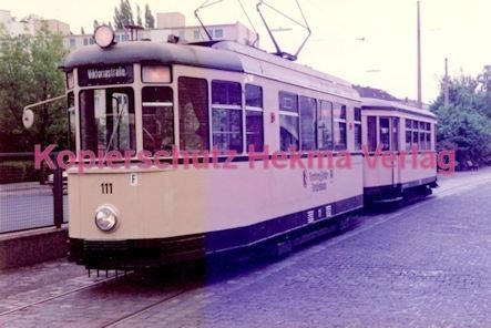 Nürnberg Straßenbahn - Museumszug - Wagen Nr. 111