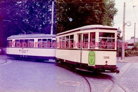 Nürnberg Straßenbahn - Museumszug - Wagen Nr. 1299