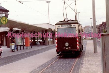 Nürnberg Straßenbahn - Haltestelle Plärrer - Schleifwagen - Bild 2