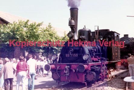 Offenburg Eisenbahn - Ausbesserungswerk - Lok Nr. 89 7159 - Bild 1