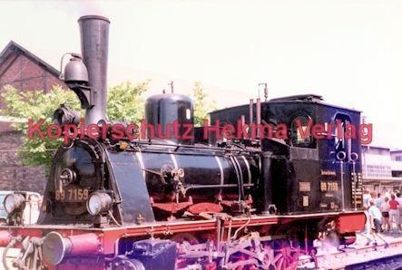 Offenburg Eisenbahn - Ausbesserungswerk - Lok Nr. 89 7159 - Bild 2