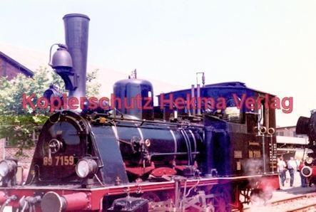 Offenburg Eisenbahn - Ausbesserungswerk - Lok Nr. 89 7159 - Bild 3