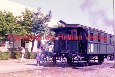 Offenburg Eisenbahn - Ausbesserungswerk - Alter Wagen