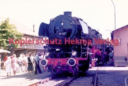 Offenburg Eisenbahn - Ausbesserungswerk - Lok Nr. 85 007 - Bild 1