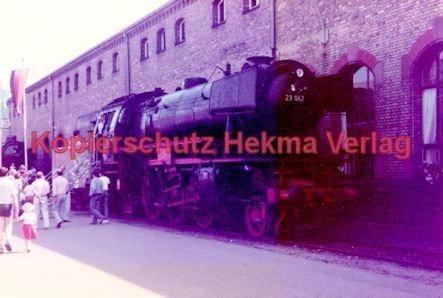 Offenburg Eisenbahn - Ausbesserungswerk - Lok Nr. 23 042