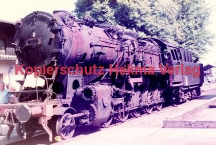 Offenburg Eisenbahn - Ausbesserungswerk - Schrottlok - Bild 1
