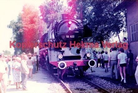 Offenburg Eisenbahn - Ausbesserungswerk - Lok Nr. 50 622