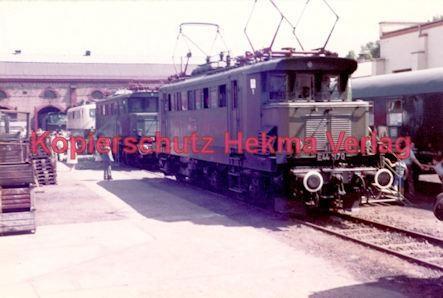 Offenburg Eisenbahn - Ausbesserungswerk - Lok Nr. E44 1170