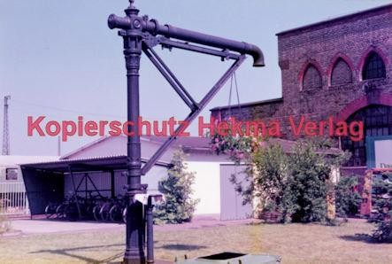 Offenburg Eisenbahn - Ausbesserungswerk - Alte Wasserpumpe aus der Dampflokzeit