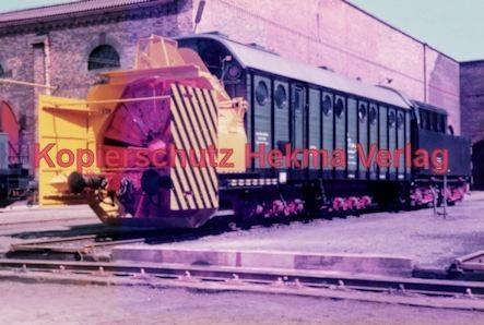 Offenburg Eisenbahn - Ausbesserungswerk - Schneeräumfahrzeuge - Bild 1