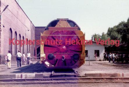 Offenburg Eisenbahn - Ausbesserungswerk - Schneeräumfahrzeuge - Bild 2