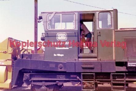 Offenburg Eisenbahn - Ausbesserungswerk - Schneeschleuder Nr. DB 4080 9475 197-8