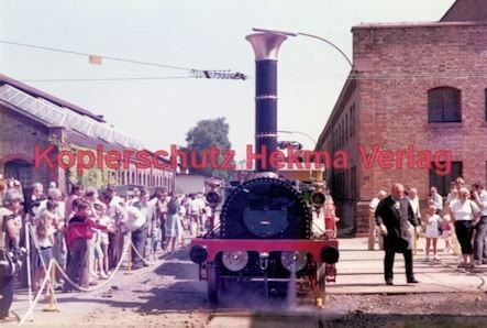 """Offenburg Eisenbahn - Ausbesserungswerk - Nachbau des """"Adlerzuges"""" - Bild 2"""