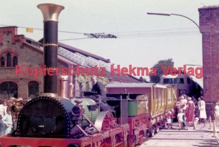 """Offenburg Eisenbahn - Ausbesserungswerk - Nachbau des """"Adlerzuges"""" - Bild 3"""