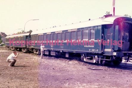 Offenburg Eisenbahn - Ausbesserungswerk - Orientexpress - Schlafwagen Nr. 3487