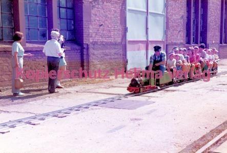 Offenburg Eisenbahn - Ausbesserungswerk - Kinderdampfeisenbahn