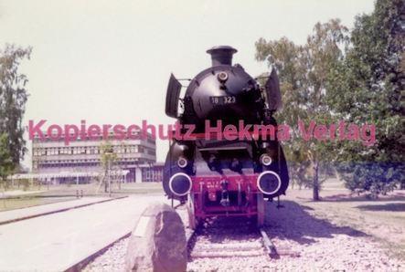 Offenburg Eisenbahn - Ausbesserungswerk - Lok Nr. 18 323 - Bild 1